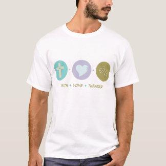Camiseta Teatro do amor da fé