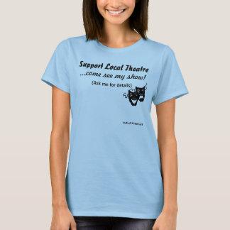 Camiseta Teatro do Local do apoio