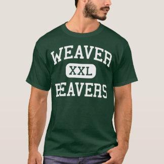 Camiseta Tecelão - castores - alto - Hartford Connecticut