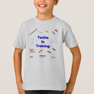 Camiseta Techie no treinamento