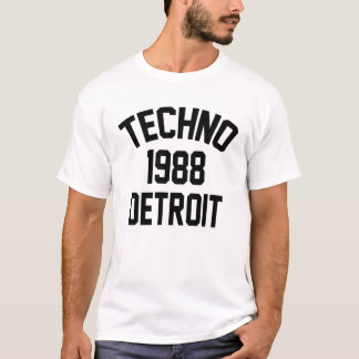 Camiseta Techno 1988 Detroit