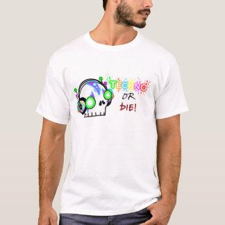 Camiseta Techno ou morre!