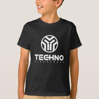 Camiseta Techno Streetwear - logotipo - t-shirt dos meninos