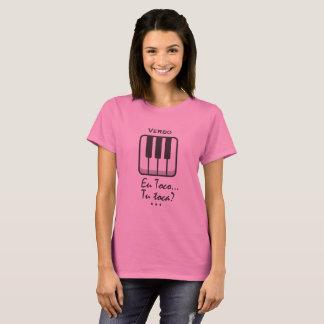 Camiseta tecladista