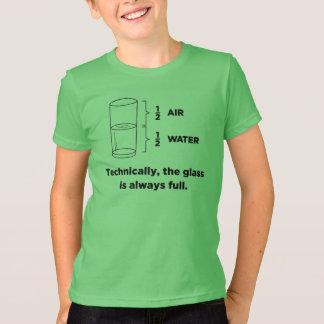 Camiseta Tècnica, o vidro é sempre t-shirt completos