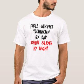 Camiseta Técnico do serviço de campo do assassino do zombi