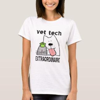 Camiseta Tecnologia do veterinário Extraordinaire