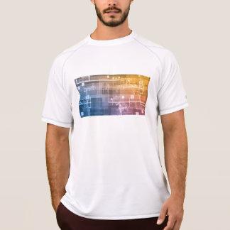 Camiseta Tecnologia futurista como uma arte da próxima