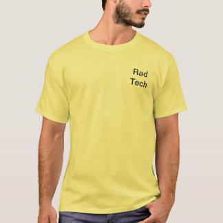 Camiseta Tecnólogo da radiologia