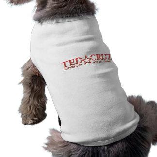 Camiseta Ted Cruz para o T canino do apoio do Senado