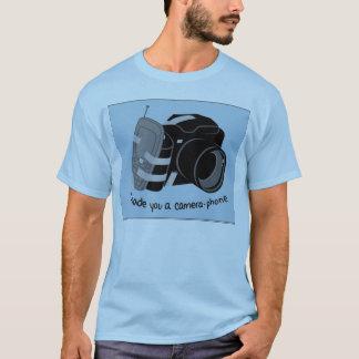 Camiseta Telefone da câmera