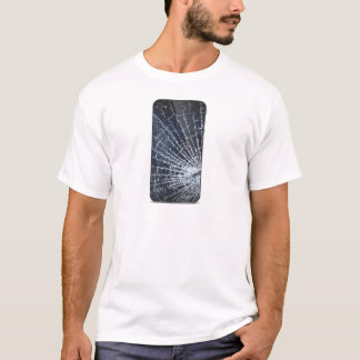 Camiseta Telefone de vidro quebrado