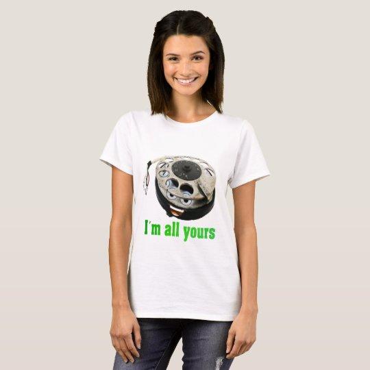 Camiseta telefone engraçado