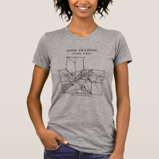 Camiseta Telhado que quadro mulheres fáceis feitas