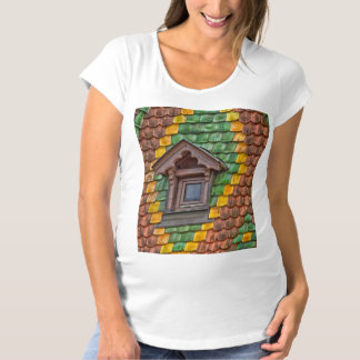 Camiseta Telhar notável no centro de Obernai