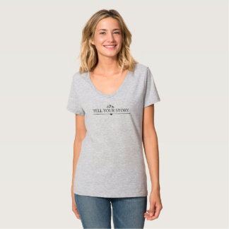 Camiseta Tell your história - Shirt