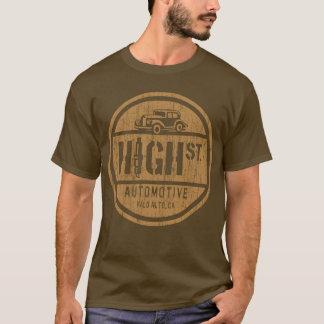 Camiseta TEM o logotipo (o cobre do vintage)