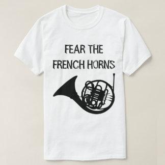 Camiseta Tema as trompas franceses