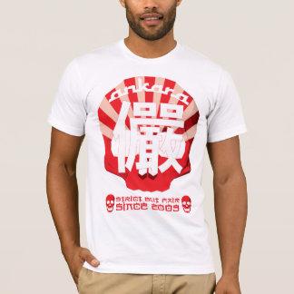 Camiseta Tema de Japão do crânio