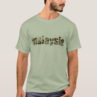 Camiseta Tema de Malaysia
