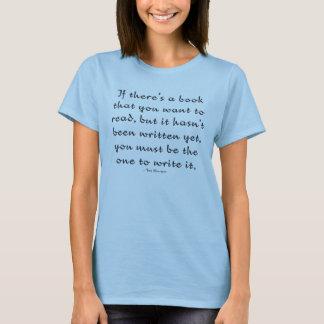 Camiseta Tema do livro de TWtM com citações de Toni