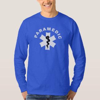 Camiseta Tema do paramédico