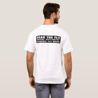 Camiseta Tema o desgaste genérico da mosca da mosca