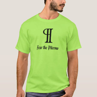 Camiseta Tema o Pilcrow