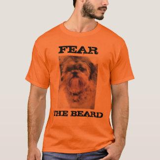 Camiseta Tema o Tshirt do tzu de Shih da barba