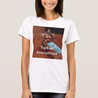Camiseta temático do yorkshire terrier