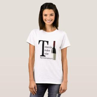 Camiseta Temecula faz o TShirt do vinho