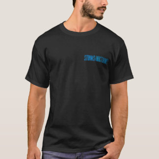 Camiseta Tempestades/noturnos - T oficial da excursão