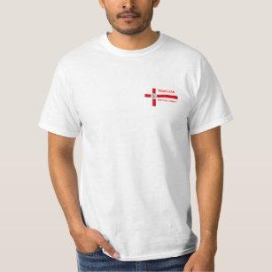 Camiseta Templari Militum cristo Shirt