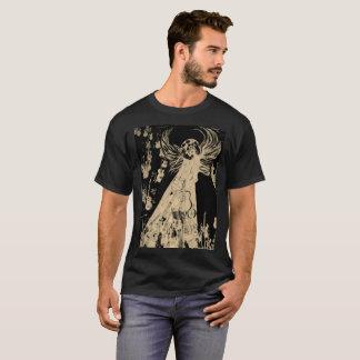 Camiseta Templo da ressurreição de t-shirt do desenhista