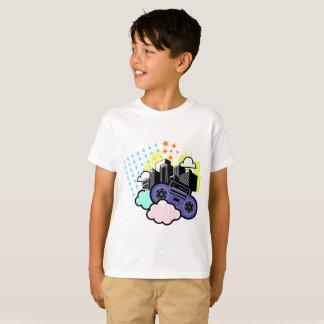 Camiseta tempo-cidade-música-vida