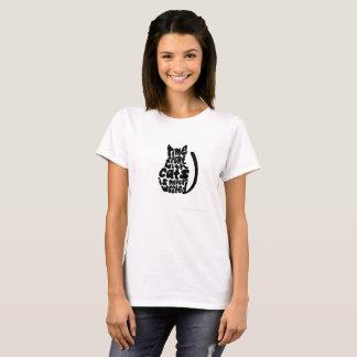Camiseta Tempo com gatos