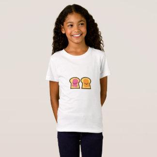 Camiseta Tempo da geléia da manteiga de amendoim
