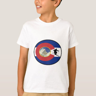 CAMISETA TEMPO DO ESQUI DE COLORADO