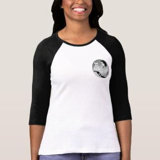Camiseta Tempo em um t-shirt das mulheres do fim de semana