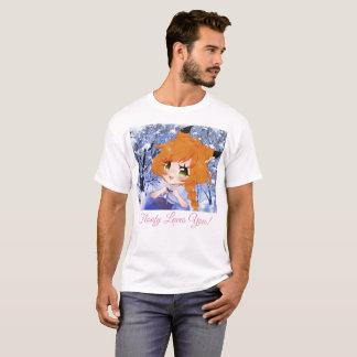 Camiseta tempo Floofy do ☃~Winter! (~☃ do t-shirt branco)