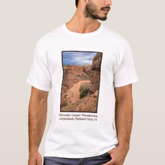 Camiseta Temporal em ferradura da garganta - Utá