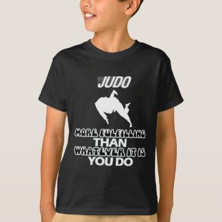 Camiseta Tendendo o DESIGN do judo