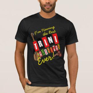 Camiseta Tendo o melhor Natal de Trini nunca!