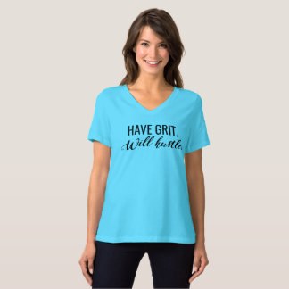 Camiseta Tenha o grão. Apressará