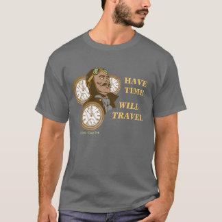 Camiseta Tenha o t-shirt do tempo