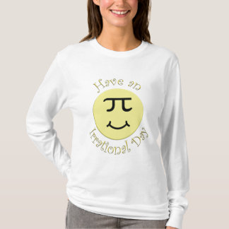 Camiseta Tenha um dia irracional