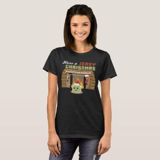 Camiseta Tenha um t-shirt jerry do Natal