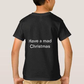 Camiseta Tenha um t-shirt louco do Natal