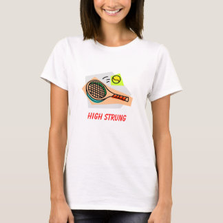 Camiseta Tênis amarrado elevação