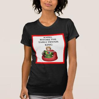 Camiseta ténis de mesa